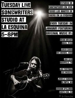 LaEsquinaFlyerSongwriters