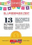 El Legendario Fest Music Friday 13th October Todos Santos