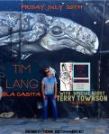 Tim Lang Terry Townson Acoustic evening La Casita Todos Santos July 20th