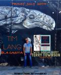 Tim Lang Terry Townson Acoustic evening La Casita Todos Santos July20th