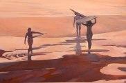 Angelina Wolf Painting