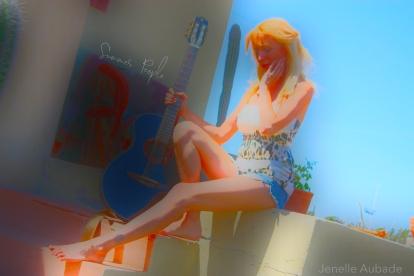 Jenelle Aubade - Summer People Album Art