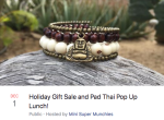 Dec 1st Holiday Gift Sale and Pad Thai Pop Up Lunch