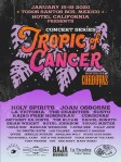 Tropic of Cancer Concert Series Schedule Jan 2020